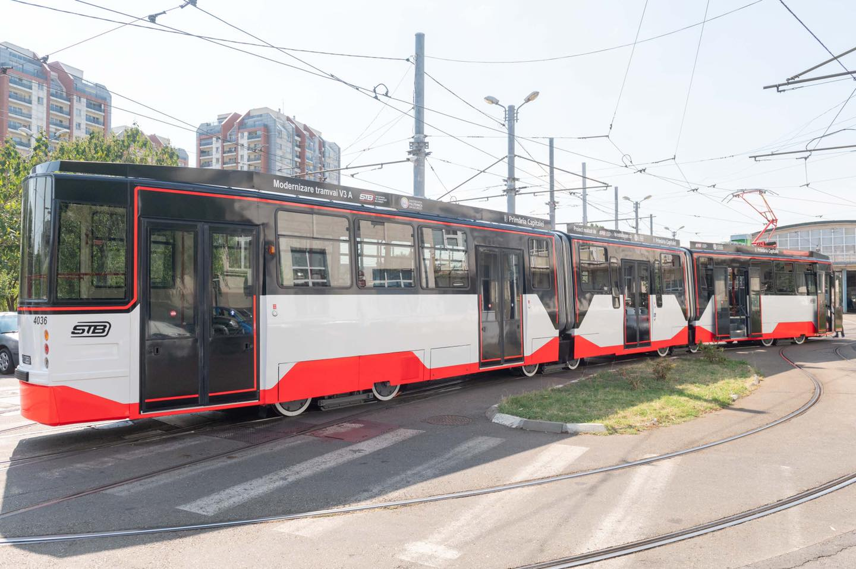 vedere slabă după tramvai)